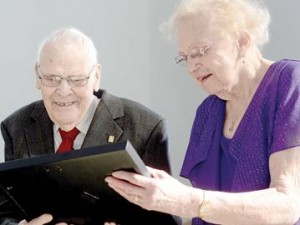 Flo & Willem - happily married for 70 years!